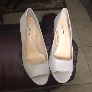 Alex Marie Silver Heels